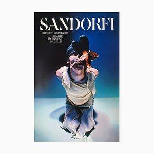 Expo 80 Galerie Isy Brachot Plakat von Istvan Etienne Sandorfi