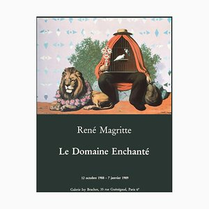 Póster Expo 89 The Enchanted Domain de René Magritte