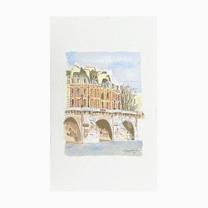 Paris Le Pont-Neuf by Katsuhiro Nagashima