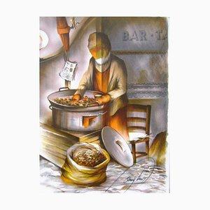 Job The Merchanton of Kastanien von Raymond Poulet