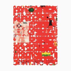 2019 Jose Maria Sicilia Official Poster by Roland-Garros