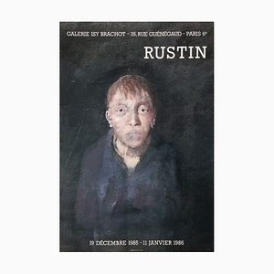 Expo 86 Galerie Isy Brachot Paris Poster von Jean Rustin