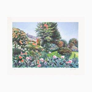 Giverny Monets Haus von Rolf Rafflewski