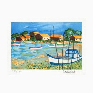 Petite Suite Becken von Arcachon I von Francois Darguin