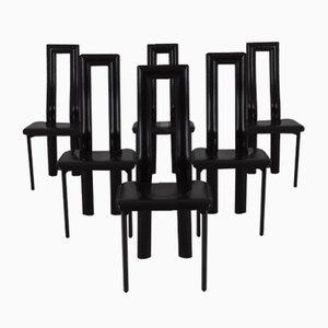 Regia Chairs by Antonello Mosca for Ycami, 1981, Set of 6
