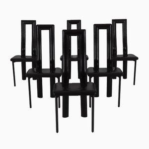 Regia Stühle von Antonello Mosca für Ycami, 1981, 6er Set