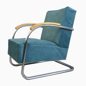 Bauhaus Armchair by Mucke Melder, 1930s
