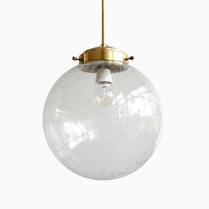 Vintage Hanging Lamp by Kamenický Šenov, Czechoslovakia, 1960s