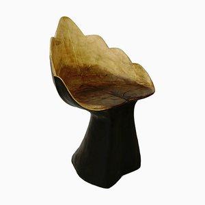 Butaca de madera maciza