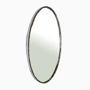 Ovaler Chrom Spiegel