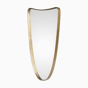 Brass Outline Mirror