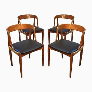 Scandinavian Chairs by Johannes Andersen for Uldum Møbelfabrik, 1960s, Set of 4