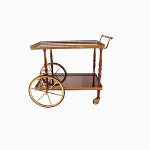 Italian Service Cart by Cesere Lacca, 1950