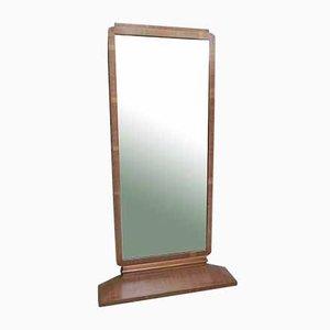 Specchio Art Déco in mogano
