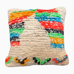 Marokkanisches Kissen aus Wolle