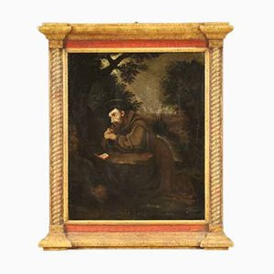 Painting of Saint Francis, Early 1700s