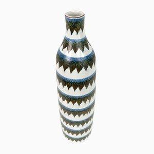 Vaso nr. 189 in ceramica di Stig Lindberg per Gustavsberg, Svezia, anni '50