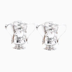 20th Century Arts & Crafts Silver Wine Coolers, 1906, Set of 2