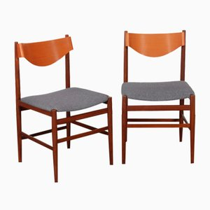 Chairs by Gianfranco Frattini for Cassina, 1960s, Set of 2