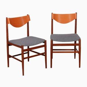 Stühle von Gianfranco Frattini für Cassina, 1960er, 2er Set