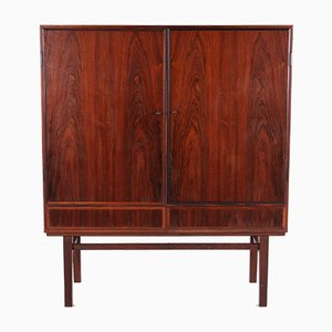 Danish High Model Cabinet by Gunni Omann for Omann Jun