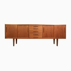 Mid-Century Scandinavian Teak Sideboard by Nils Jonsson for Troed
