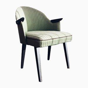 Mid-Century Woolen 'Swallow' Armchair, 1950s