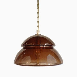 Glass Pendant Lamp by Carl Fagerlund for Orrefors 1960s
