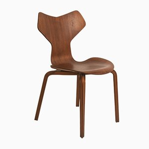 Vintage Grand Prix Chair by Arne Jacobsen for Fritz Hansen