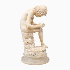 Escultura de mármol con espina, C. 1900