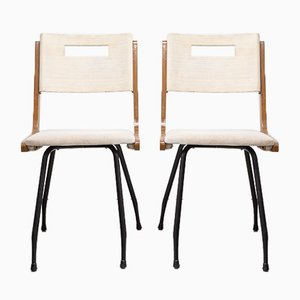 Rationalist Style Chairs, C. 1960, Set of 6