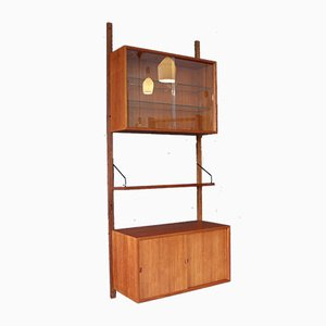 Vintage Danish Teak Wall Unit by Poul Cadovius for Cado