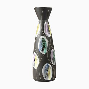 German Kongo Vase by Bodo Mans for Bay Keramik, 1960s