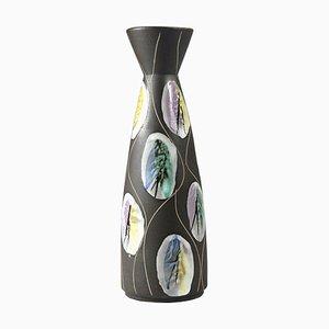 Jarrón Kongo alemán de Bodo Mans para Bay Keramik, años 60