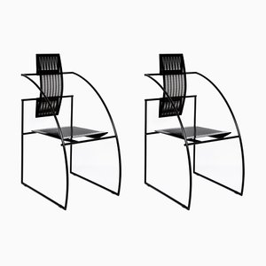Italian Quinta Chairs by Mario Botta for Alias, 1985, Set of 2