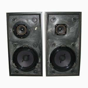 Danish Beovox S25 Speakers by Jacob Jensen for Bang & Olufsen, 1970s, Set of 2