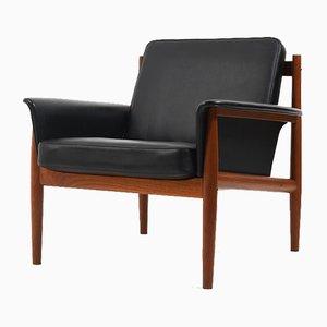 Mid-Century Teak Easy Chair by Grete Jalk for France & Søn / France & Daverkosen