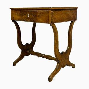 Empire Charles X Blonde Mahogany Desk