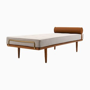 Reupholstered Early GE-19 Daybed by Hans J. Wegner for Getama