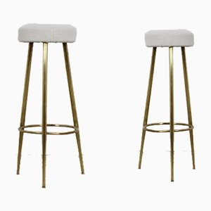 Italian Stools, 1960s, Set of 2