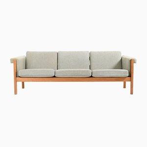 Vintage GE-40/3 Sofa aus Massiver Eiche von Hans J. Wegner für Getama