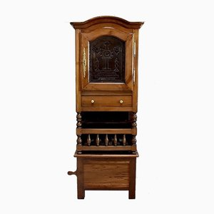 Chestnut Cabinet, 1800s