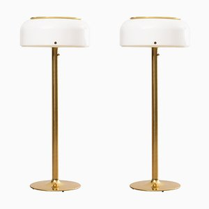Model Knubbling Floor Lamps by Ateljé Lyktan for Anders Pehrson, Sweden, Set of 2