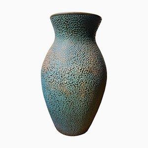 Jarrón de cerámica grabada de Gastone Batignani para Cor, Italy, años 40