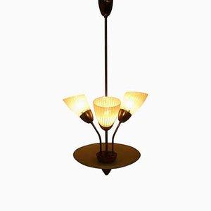 Lámpara de araña de Josef Hurka para Napako, años 60