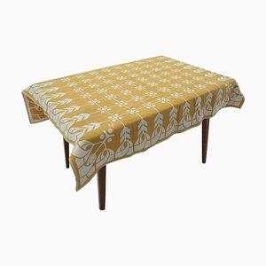 Fabric Table Cloth, Czechoslovakia, 1960s