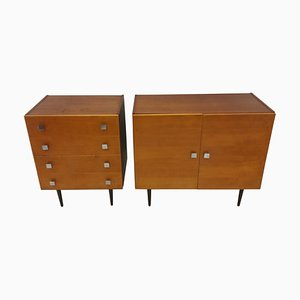 Sideboard and Chest of Drawers by František Mezulánik, 1960s,