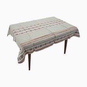 Flax Tablecloth, Czechoslovakia, 1960s