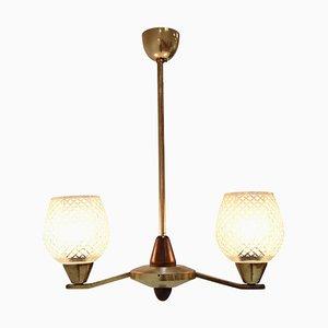 Lámpara de araña Mid-Century de Lidokov, años 60