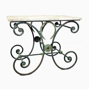 Französischer Antiker Patisserie Tisch